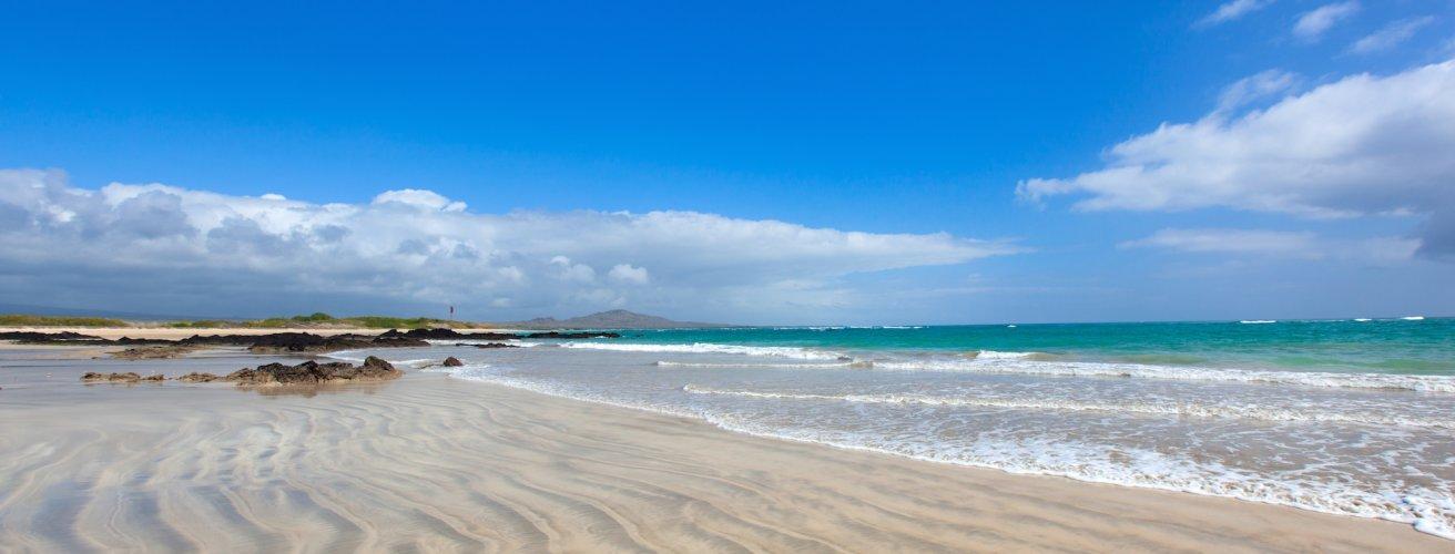 ECU.Galápagos.Strand von Isabela Ein Strand in Ecuador