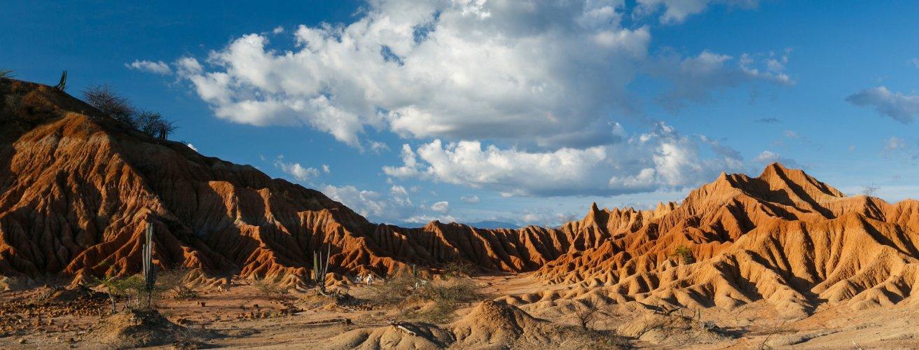 CO.Tatacoa-Wüste 2 Die Tatacoa Wüste bei Tag
