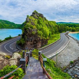 Scenic Drive am Indischen Ozean