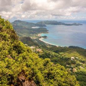 Wandern durch den Regenwald zum höchsten Punkt