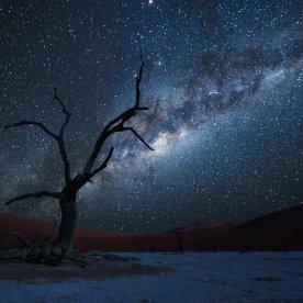 Unter einem der prachtvollsten Sternenhimmel der Welt zelten