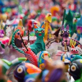 Traditionelles Kunsthandwerk in allen Farben