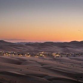 Übernachtung im Luxus-Camp in der Wüste Abu Dhabis