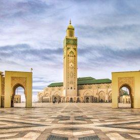 Die größte Moschee des Landes