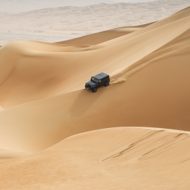 Im Geländewagen durch Dünen düsen