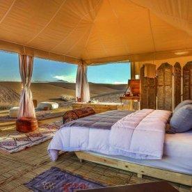 Eine Nacht im Wüstencamp