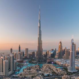 Burj Khalifa: Rundum-Panorama auf 452 Metern Höhe
