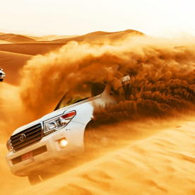 Dune Bashing: Rasante Spritztour über Dünen