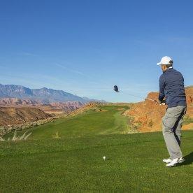 Golfen mit Blick auf den hohen Atlas