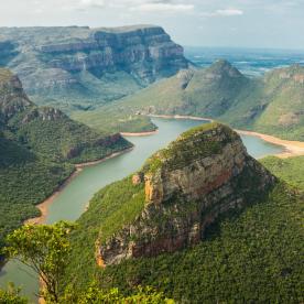 Atemberaubende Weiten am Grand Canyon Südafrikas