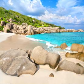 Am südlichsten und abgelegensten Strand relaxen