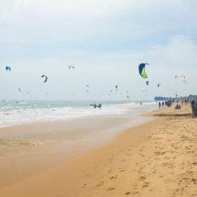 Kitesurfen an Vietnams Premium Spot