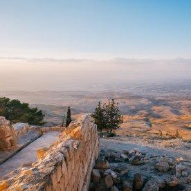 """Spektakuläre Aussicht auf das biblische """"Heilige Land"""""""