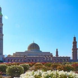 Eine der größten Moscheen der Welt besichtigen