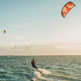 Aufs Board am Kitesurf-Eldorado