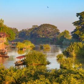 Inselhopping auf dem Mekong