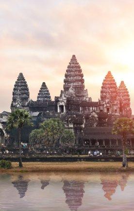 KH.Tempel Angkor Wat Tempelanlage