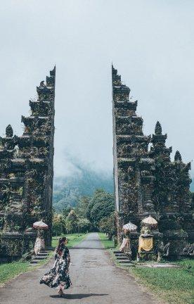 BALI.Frau Tempel Frau Tempel Bali