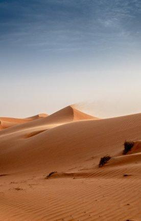 Viel Sand, viel Ruhe Sanddünen im Oman