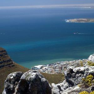 ZA.Robben Island 3 Blick auf Robben Island vom Festland