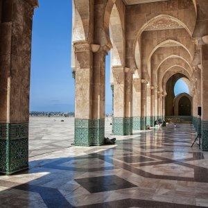 MA.POI.Hassan Moschee 3 Gebäudeteile der Hassan Moschee