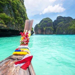 TH.AR.Ko Pi Phi Boot Blick von einem Langtail Boot