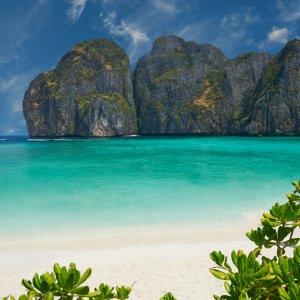 TH.AR.Ko Phi Phi Strand Ein Strandabschnitt auf Ko Phi Phi