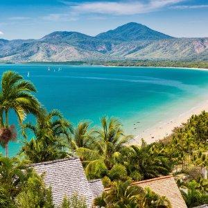AU.Cairns_Port_Douglas Der Blick auf die Bucht von Port Douglas.