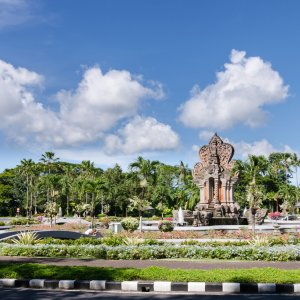 Bali.Denpasar.Park