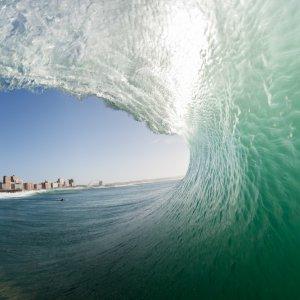 ZA.Durban.Welle Welle vor der Küste von Durban