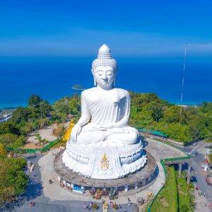 TH.AR.Phuket Big Buddha Die Big Buddha Statue bei Tag