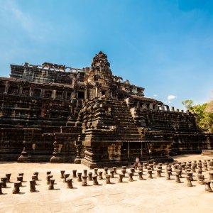 KH.Angkor_Thom_Baphuon_Tempel Kambodscha Siem Reap Angkor Thom Baphuon Tempel