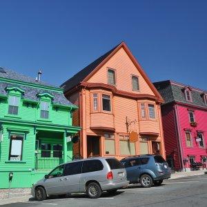Kanada Lunenburg Nova Scotia Weltkulturerbe Architektur bunte Häuser