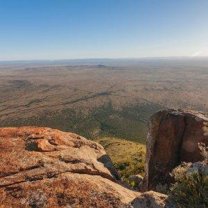 ZA.Karoo Südafrika Karroo Karru Halbwüste Great Karoo