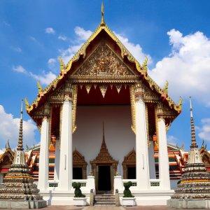 """Der """"Wat Pho"""" Tempel in Thailand"""