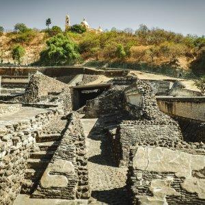 MX.Pyramide_von_Cholula_Überreste Die Überreste der Pyramide von Cholula