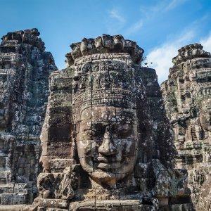 KH.Bayon_Tempel Kambodscha Siem Reap Angkor Thom Bayon Tempel