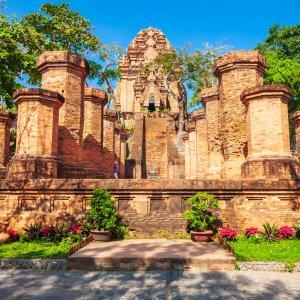 """VN.Po_Nagar Der Tempelkomplex """"Po Nagar"""" in Vietnam"""