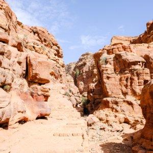 JO.Ad_Deir Ad Deir Jordanien Ad-Dair Kloster Petra ad-Dair El-Dair Monastery Al-Deir El Deir