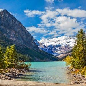 Kanada Banff Nationalpark Lake Louise Promande