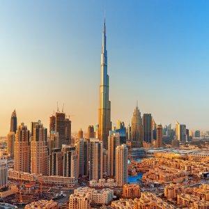 UAE.POI.Burj Khalifa 1 Skyline Dubais