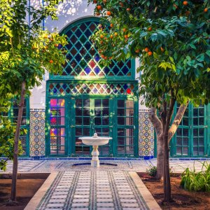 MA.POI.Jardin Majorelle 7 Gebäude im Jardin Majorelle