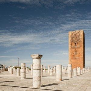 "MA.Hassan_Turm Das unvollendete Minorett ""Hassan-Turm"""