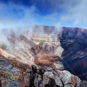 """RE.Piton_de_la_Fournaise_Vulkanlandschaft Kraterlanndschaft des """"Piton de la Fournaise"""" in La Réunion"""