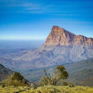 OM.Hadschar Gebirge Jebel Misht Jebal Misht Berg im Hadschar Gebirge