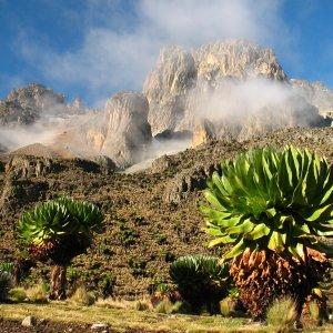 Mount Kenia Mount Kenya