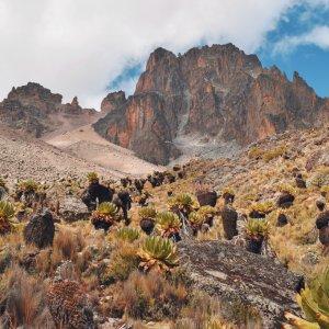 KE.Mount Kenia Mount Kenya