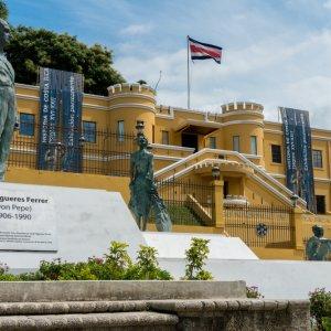 CR.San_Jose_Nationalmuseum Der Blick auf das Nationalmuseum von Costa Rica.