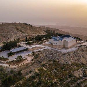 JO.Nebo_Berg Jordanien Nebo Berg Denkmal Heiliges Land Moses