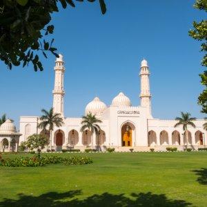 "OM.Salalah.Moschee Blick auf die ""Sultan Qaboos Moschee"" in Salalah im Oman"